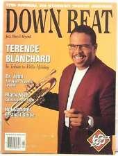 DOWN BEAT MAGAZINE TERENCE BLANCHARD DR JOHN BLACK NOTE FESTIVAL GUIDE VERY RARE