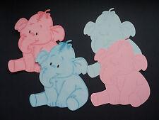Happy compactées elephant die découpez des formes bébé couleurs, 8