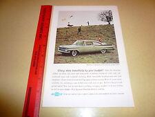 1959 Chevrolet Biscayne 2 Door Sedan Ad Advertisement - Vintage