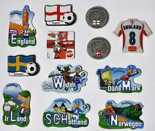 Deko Magnete Fußball England Skandinavien Schweden Eire