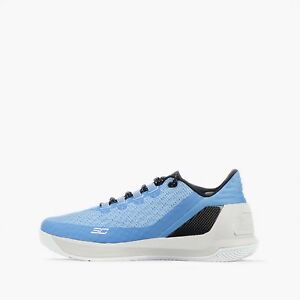 "Under Armour Curry 3 Low ""Queensway"" Mens Basketball Shoes in Blue-Glacier"
