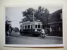 N107 1940s NZH TRAMWAYS - TRAM No A326 PHOTO Netherlands Noord-Zuid-Hollandsche