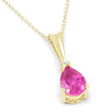 Chain Yellow Gold Sapphire Fine Necklaces & Pendants