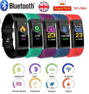 Fitness Smart Watch Band Sport Activity Tracker Kids Adult Fitbit Step Counters