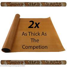 "1 Large NonStick Sheet Mat 48""x16"" PTFE Slick Roll Baking/BBQ/Solvent Resistant"