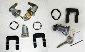 NEW 1967 - 1968 -1969 Ford Mustang Lock set doors & Ignition & Trunk All 4 Locks