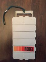RARE Vintage Rebel 308 Fishing Tackle Box 8 Compartments With 23 Hand Tied Lures