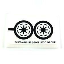 NEW OLD STOCK LEGO 8014 STAR WARS Clone Walker Battle Pack STICKER SHEET 2009