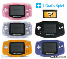 GameBoy Advance / GBA Konsole (Farbe nach Wahl) + GRATIS Nintendo GB Spiel