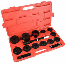 Front Wheel Drive Bearing Removal Adapter Puller Pulley Tool Kit Master Set