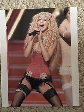 Christina Aguilera Mtv Awards 8x10
