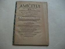 1624.Moscherosch,Johannes Michael DeAmicitia questiones ethicae XV.Dissertation