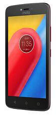 Motorola Moto C - 16GB - Metallic Cherry (Unlocked) Smartphone