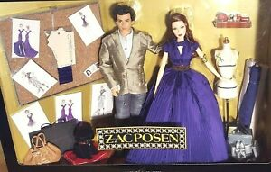 "Zac Posen Barbie and Ken Gift set ""Very Limited PLATINUM LABEL edition"" NRFB"