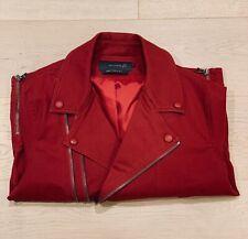 Arthur Galan Biker Jacket Red Size 3 (Large)