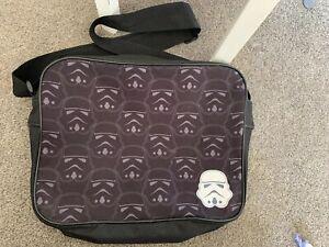 Star Wars Satchel Kids Cross Over Body Messenger Bag Star Wars Strom Troopers