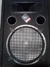 Nady floor model 12inch speakers black 400 watt.