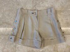 Louis Vuitton Beige Silk Mini Shorts Size FR 36 / UK 8