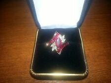 Incomparable Price! Custom Ladies Ruby & Diamond Ring