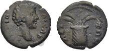 Ancient Rome AD 161 AEOLIS ELAEA LUCIUS VERUS CAESAR  BASKET