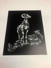 Mountain Bighorn Sheep Ram Art Print by Jeffrey Johnson 1979