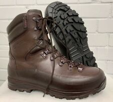 ITURRI BROWN LEATHER COLD WET WEATHER COMBAT BOOTS - 8 Medium , British Army