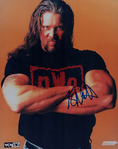 "KEVIN NASH signed Autographed WCW ""nWo"" 8X10 PHOTO - wwe BIG SEXY Diesel COA"