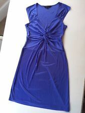 BCBG Cornflower Blue Sweetheart Neckline Dress Size M