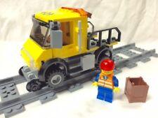 Lego Train City Red Cargo Train Repair Truck Mint 60052/60098/7939/3677