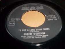 "GILBERT O' SULLIVAN "" CHRISTMAS SONG "" 7"" SINGLE EX- MAM 124 (1974)"