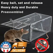 1Pc Live Animal Cage Mouse Trap Rat Hamster Catch Control Bait Hunting Catcher