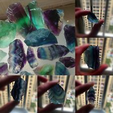 100g Natural Rare Fluorite Crystal Stone Chips Rock Gemstone Gem Specimen Decor