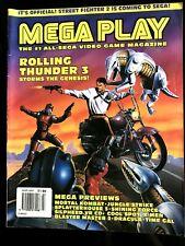 MEGA PLAY du 03/1995; Rolling Thunder 3/ Mortal Kombat/ Jungle Strike