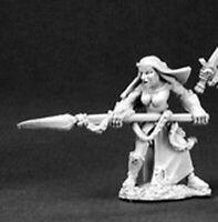 WARLORD REAPER miniature jdr rpg nonne soeur 14372 1 x SISTER ELENA BATTLE NUN