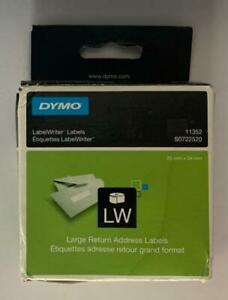 Genuine Dymo Labelwriter Labels ~ New Old Stock ~ 2 Variants