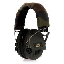 MSA Sordin Supreme Pro X Kapselgehörschutz Schaumkissen Camo-Kopfband grüne Cups