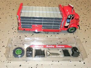 coca cola diecast 1/24 1938 GMC Delivery Truck Mint in Box Cases of Bottles