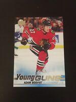 Adam Boqvist 2019-20 UD Hockey Young Guns #492  Chicago Blackhawks RC