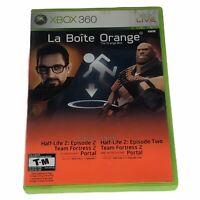 The Orange Box Half Life 2 La Boite Orange Xbox 360 Complete with Manual