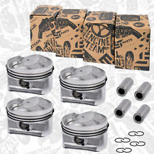 4x Piston Lot Std Citroen Peugeot C3 C4 DS3 207 208 308 1,4 8FR 8FS 0628.T6