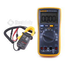 Fluke 18B+ AC/DC Current Voltage multimeter with Current Clamp Meter Transducer