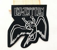 Led Zeppelin Rock Band Embroidered Iron On Patch Badge + 1895