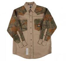 FR Rasco  KHAKI/Camoflauge  Work Shirts Flame Resistant NWT