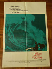 THE FANTASTIC PLASTIC MACHINE ORIGINAL 1969 ONE SHEET SURFERS MOVIE POSTER