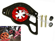 Front Sprocket Chain Guard Cover Red & Black For 2013-2016 HONDA Grom MSX 125