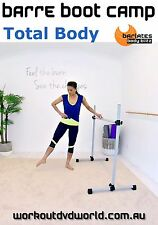 Cardio Sculpting EXERCISE DVD - Barlates Body Blitz BARRE BOOT CAMP TOTAL BODY!