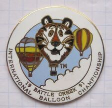 TIGER / BATTLE CREEK `91 ...................  Special Shape Ballon-Pin (130k)