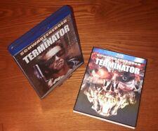 THE TERMINATOR Blu-ray US import region a free (rare OOP slipcover slipcase)