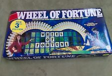 Vintage Wheel of Fortune Board Game 1985  3rd Edition Pressman