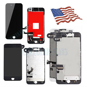 Fo iPhone 5 6 7 8 Plus LCD Display Screen Digitize Replacement Button&Camera LOT